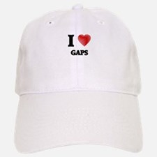 I love Gaps Baseball Baseball Cap