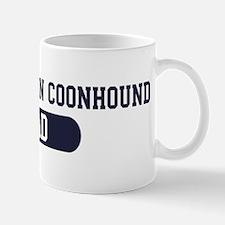 Black and Tan Coonhound Dad Mug