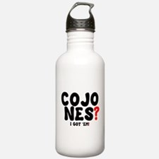 COJONES - I GOT EM! Water Bottle