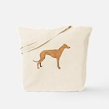 Grey hound Tote Bag