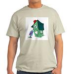 HAPPY HOUSE Ash Grey T-Shirt