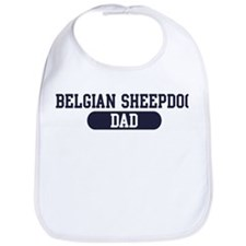 Belgian Sheepdog Dad Bib