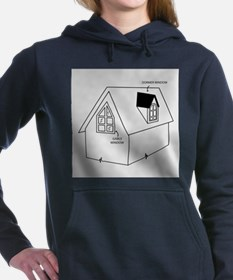Unique Construction and real estate profession Women's Hooded Sweatshirt