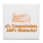 SHMUCKS Tile Coaster