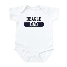 Beagle Dad Infant Bodysuit