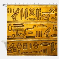 Hieroglyphs20160334 Shower Curtain