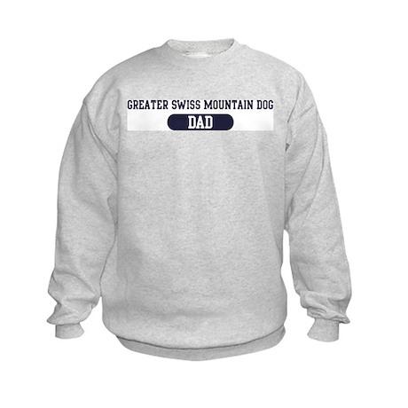 Greater Swiss Mountain Dog Da Kids Sweatshirt