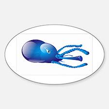 Blue violet Amoeba Decal