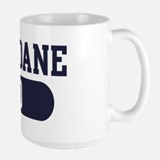 Great Dane Dad Large Mug