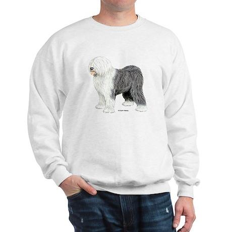 Old English Sheepdog (Front) Sweatshirt