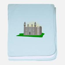 Castle baby blanket