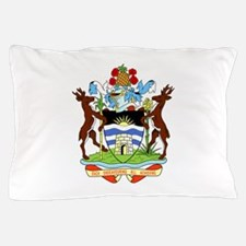 Coat Of Arms Of Antigua And Barbuda Pillow Case