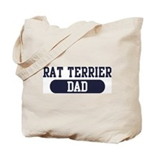 Rat Terrier Dad Tote Bag