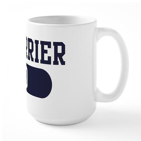 Rat Terrier Dad Large Mug