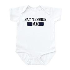 Rat Terrier Dad Infant Bodysuit