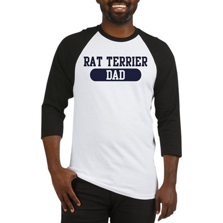 Rat Terrier Dad Baseball Jersey