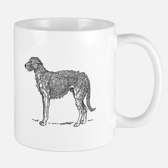 Deerhound Mugs
