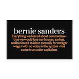 "Bernie sanders quotes 3"" x 5"""