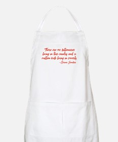 Children in Poverty Apron