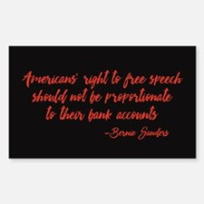 Freedom of Speech Decal
