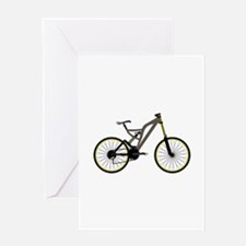 Mountain bike Greeting Cards