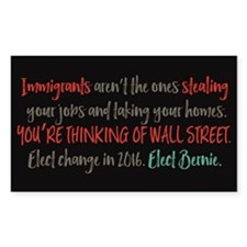 Wall Street Thieves Decal