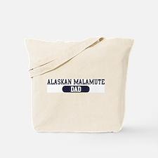 Alaskan Malamute Dad Tote Bag