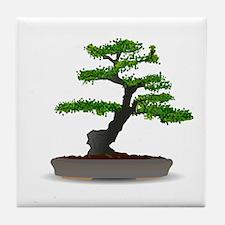 Bonsai tree Tile Coaster