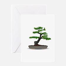 Bonsai tree Greeting Cards