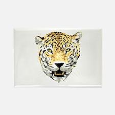 Jaguar face profile Magnets