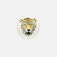 Jaguar face profile Mini Button