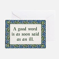 Scottish Proverb Greeting Cards (Pk of 20)