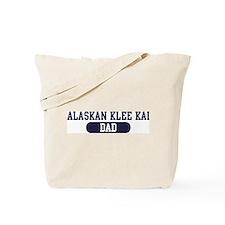 Alaskan Klee Kai Dad Tote Bag