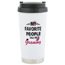 Unique Call me grandma Travel Mug