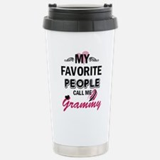 Cute Grammy grandma Travel Mug