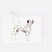 Dalmatian Dog Greeting Cards (Pk of 10)