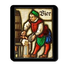 Bier Man Mousepad