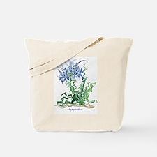 Agapanthus Design Tote Bag