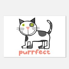 Purrfect Postcards (Package of 8)