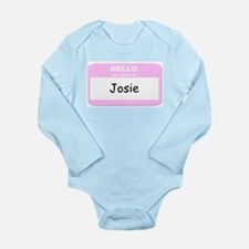 Unique Josie Long Sleeve Infant Bodysuit
