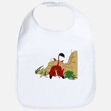 The Lion King in cave Bib
