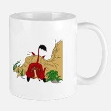 The Lion King in cave Mugs