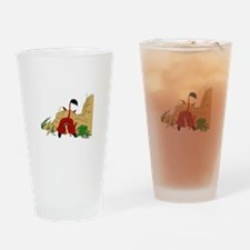 The Lion King in cave Drinking Glass