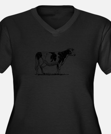 Holstein cow Plus Size T-Shirt