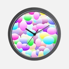 Bubble Eggs Light Wall Clock