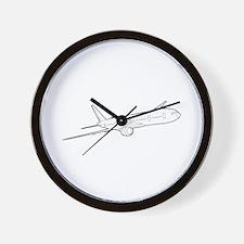 Johntg boeing Wall Clock