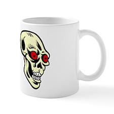 Red Eyed Skulls Mug