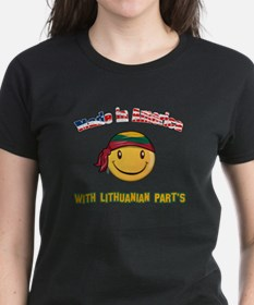 Made in America with Lithuanian parts Tee
