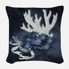 The Reef Woven Throw Pillow