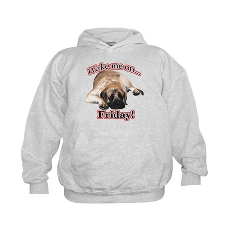 Mastiff Friday Kids Hoodie
